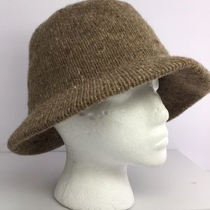 Accessories - ❤️ Brown Wool Bowler Hat Size S/M